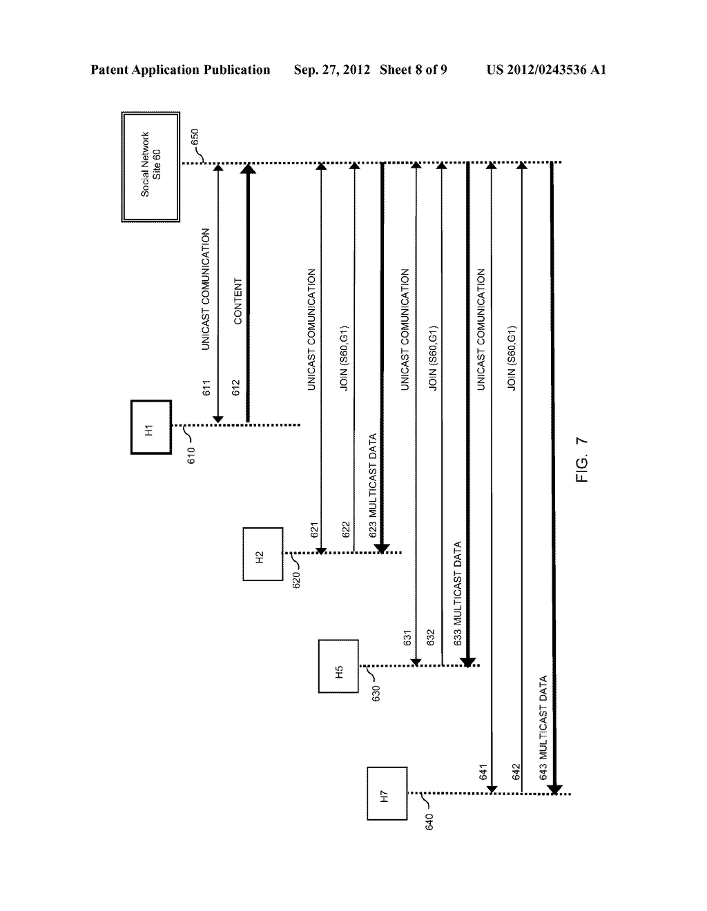 METHOD AND APPARATUS FOR TRANSMITTING AND RECEIVING MULTICAST DATA IN     SOCIAL NETWORKS - diagram, schematic, and image 09