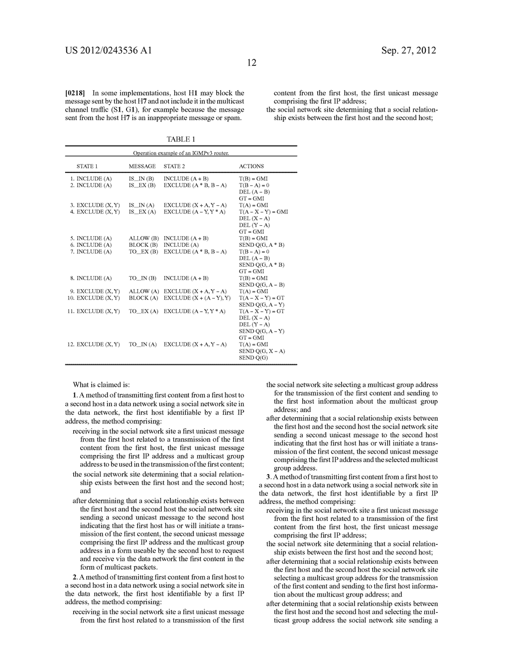 METHOD AND APPARATUS FOR TRANSMITTING AND RECEIVING MULTICAST DATA IN     SOCIAL NETWORKS - diagram, schematic, and image 22