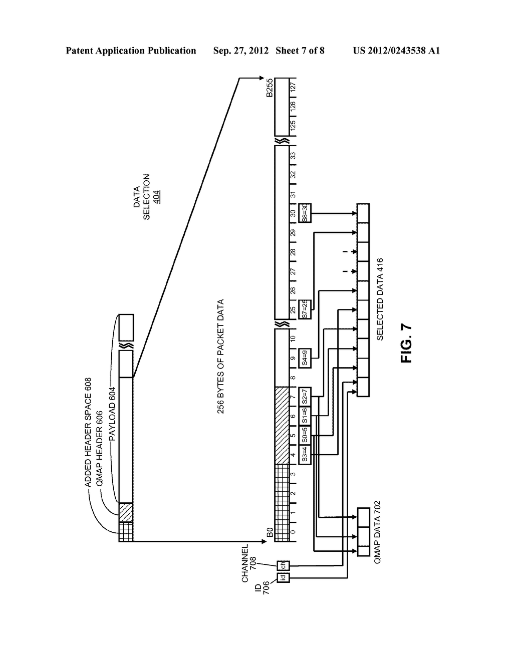 METHOD AND APPARATUS FOR PRE-CLASSIFYING PACKETS - diagram, schematic, and image 08