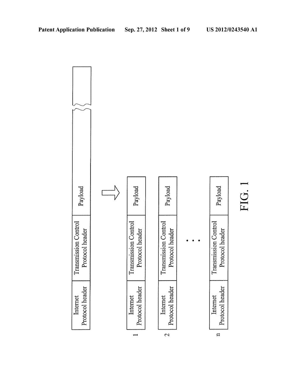 METHOD FOR OFFLOADING PACKET SEGMENTATIONS AND DEVICE USING THE SAME - diagram, schematic, and image 02