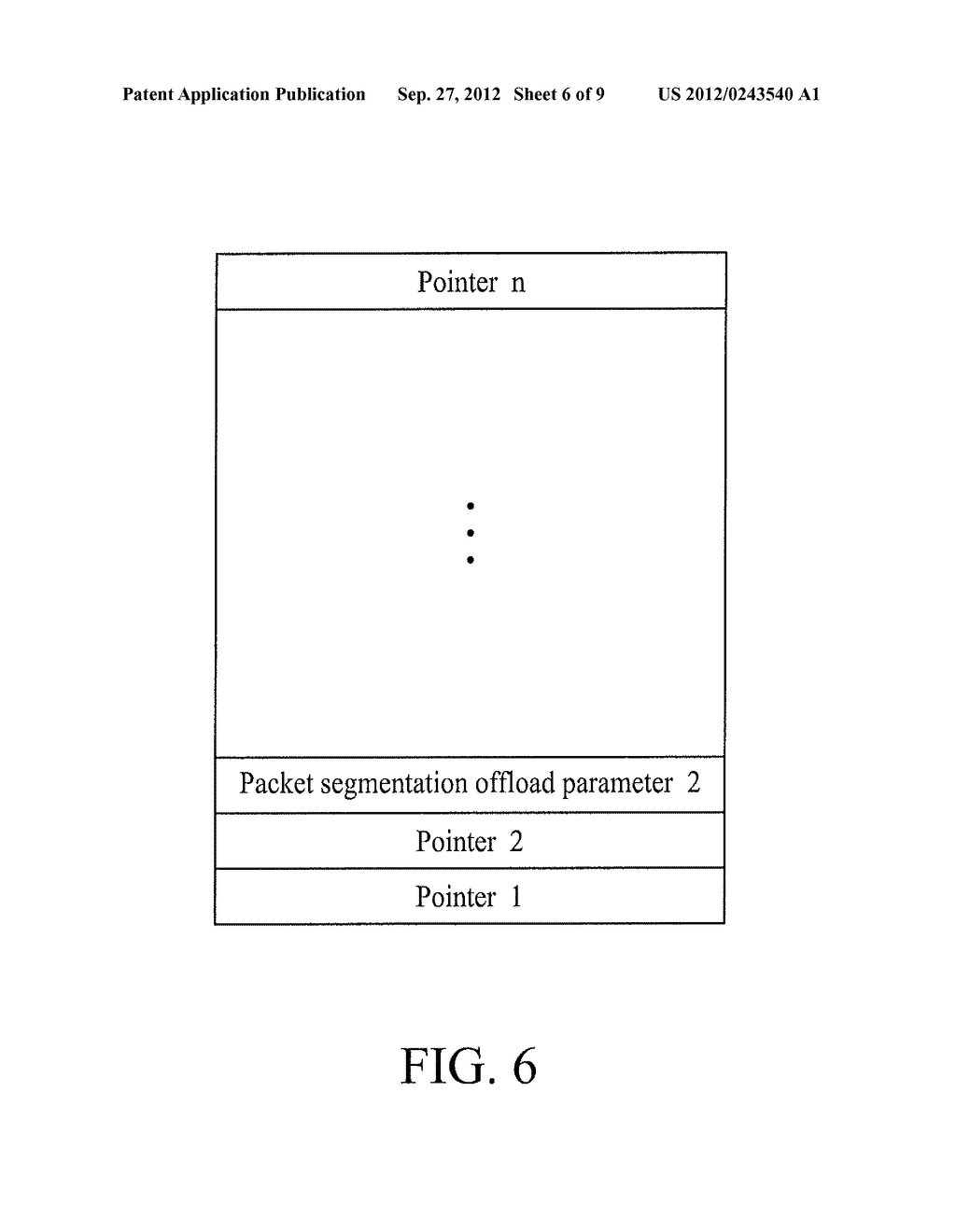 METHOD FOR OFFLOADING PACKET SEGMENTATIONS AND DEVICE USING THE SAME - diagram, schematic, and image 07