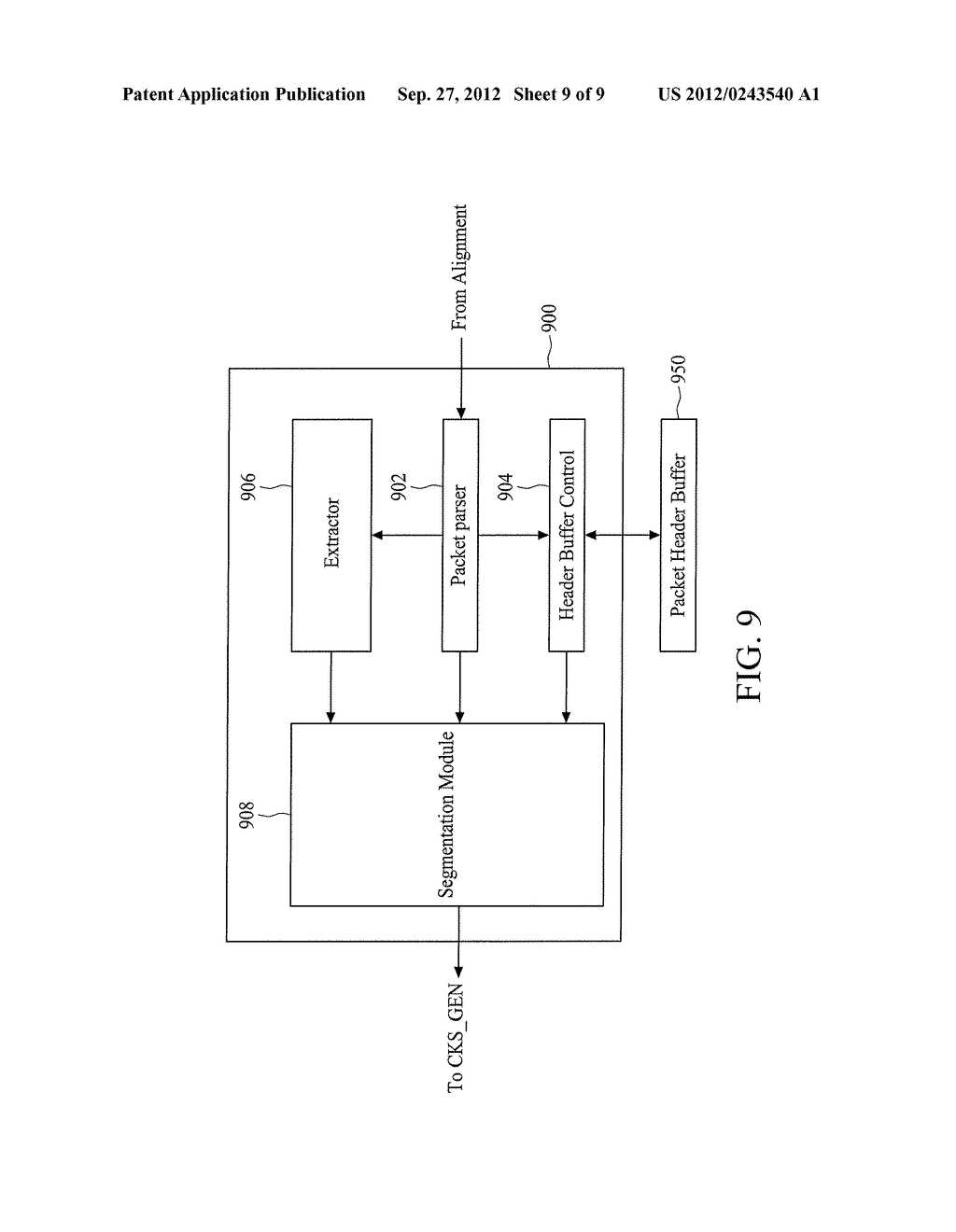 METHOD FOR OFFLOADING PACKET SEGMENTATIONS AND DEVICE USING THE SAME - diagram, schematic, and image 10