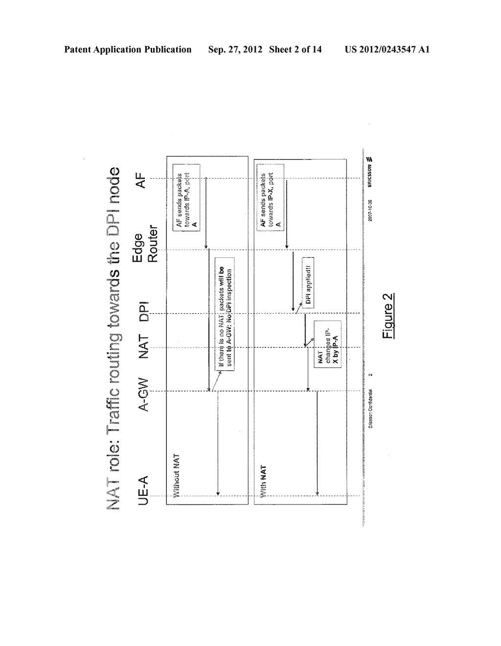 TOKEN-BASED CORRELATION OF CONTROL SESSIONS FOR POLICY AND CHARGING     CONTROL OF A DATA SESSION THROUGH A NAT - diagram, schematic, and image 03