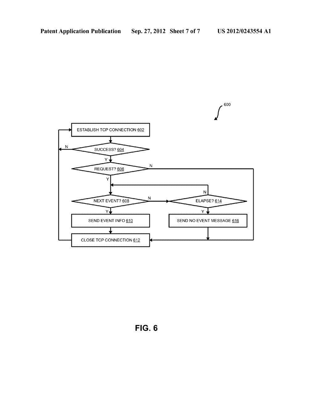 EVENT-MONITORING IN A SYSTEM FOR AUTOMATICALLY OBTAINING AND MANAGING     PHYSICAL LAYER INFORMATION USING A RELIABLE PACKET-BASED COMMUNICATION     PROTOCOL - diagram, schematic, and image 08