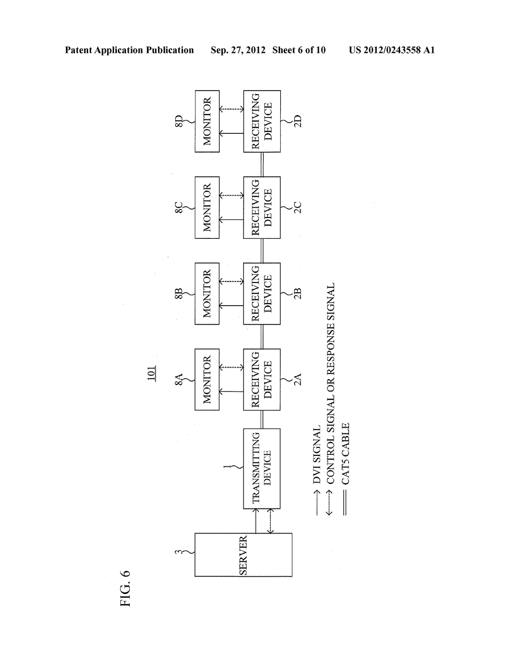 SIGNAL TRANSMISSION SYSTEM, SIGNAL TRANSMISSION METHOD, TRANSMITTING     DEVICE AND RECEIVING DEVICE - diagram, schematic, and image 07