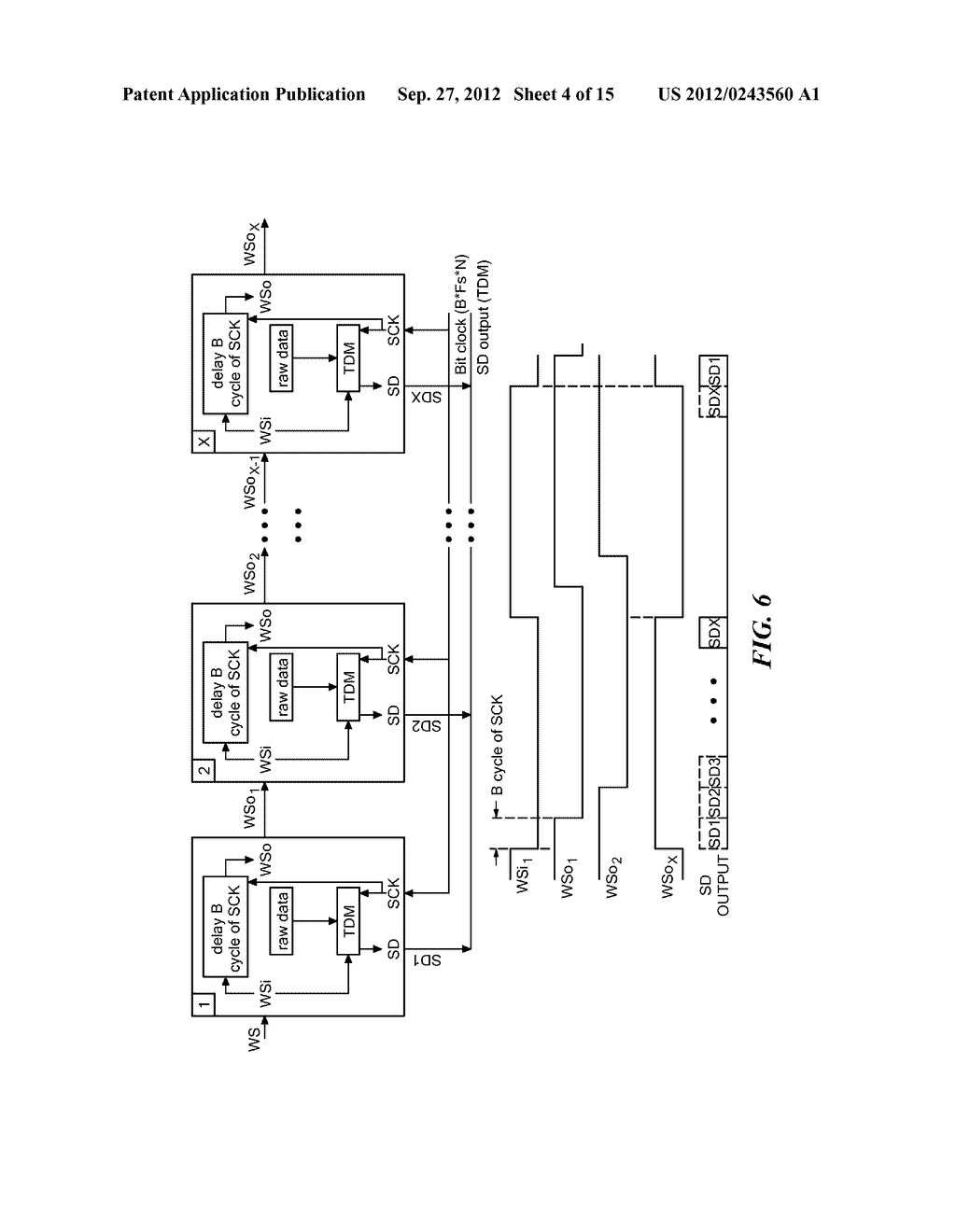 System, Apparatus, and Method for Time-Division Multiplexed Communication - diagram, schematic, and image 05