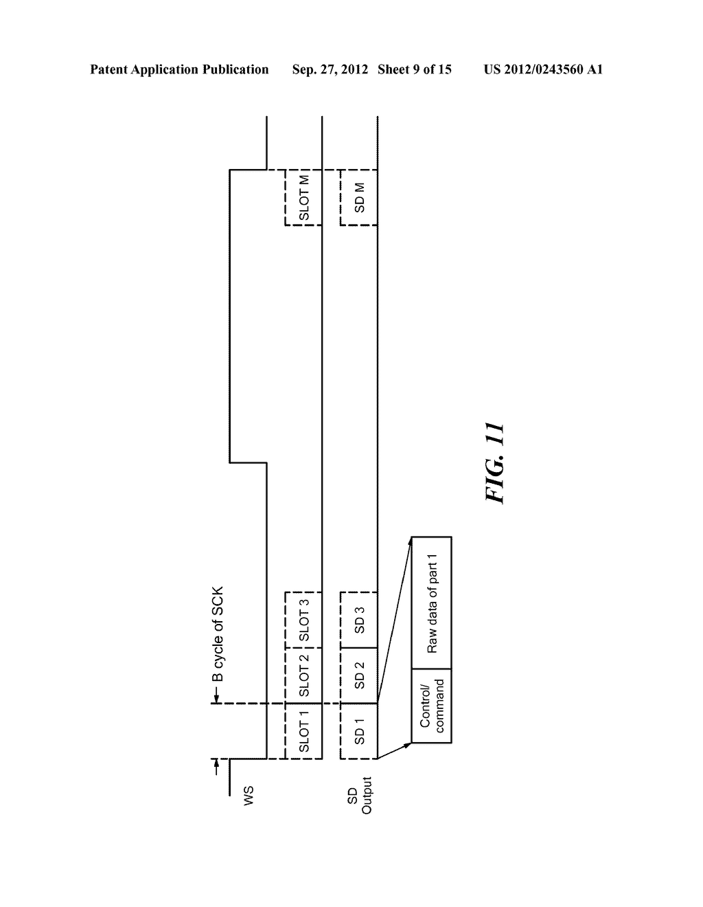 System, Apparatus, and Method for Time-Division Multiplexed Communication - diagram, schematic, and image 10