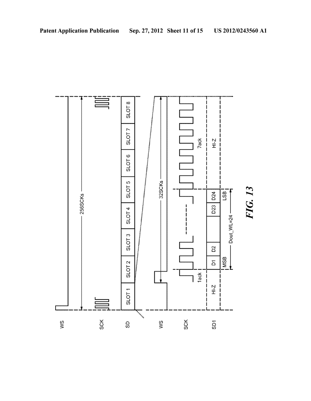 System, Apparatus, and Method for Time-Division Multiplexed Communication - diagram, schematic, and image 12