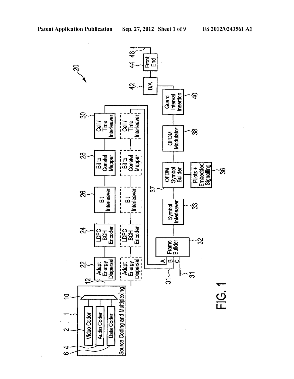 TRANSMISSION AND RECEIVER APPARATUS AND METHODS - diagram, schematic, and image 02