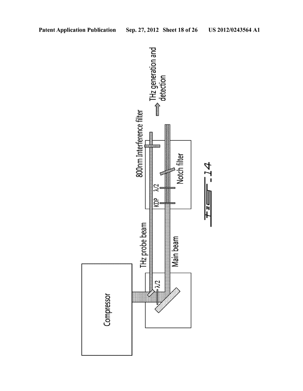 SYSTEM AND METHOD FOR AGILE REMOTE GENERATION OF A BROADBAND TUNABLE     SHORT-PULSE EMISSION - diagram, schematic, and image 19