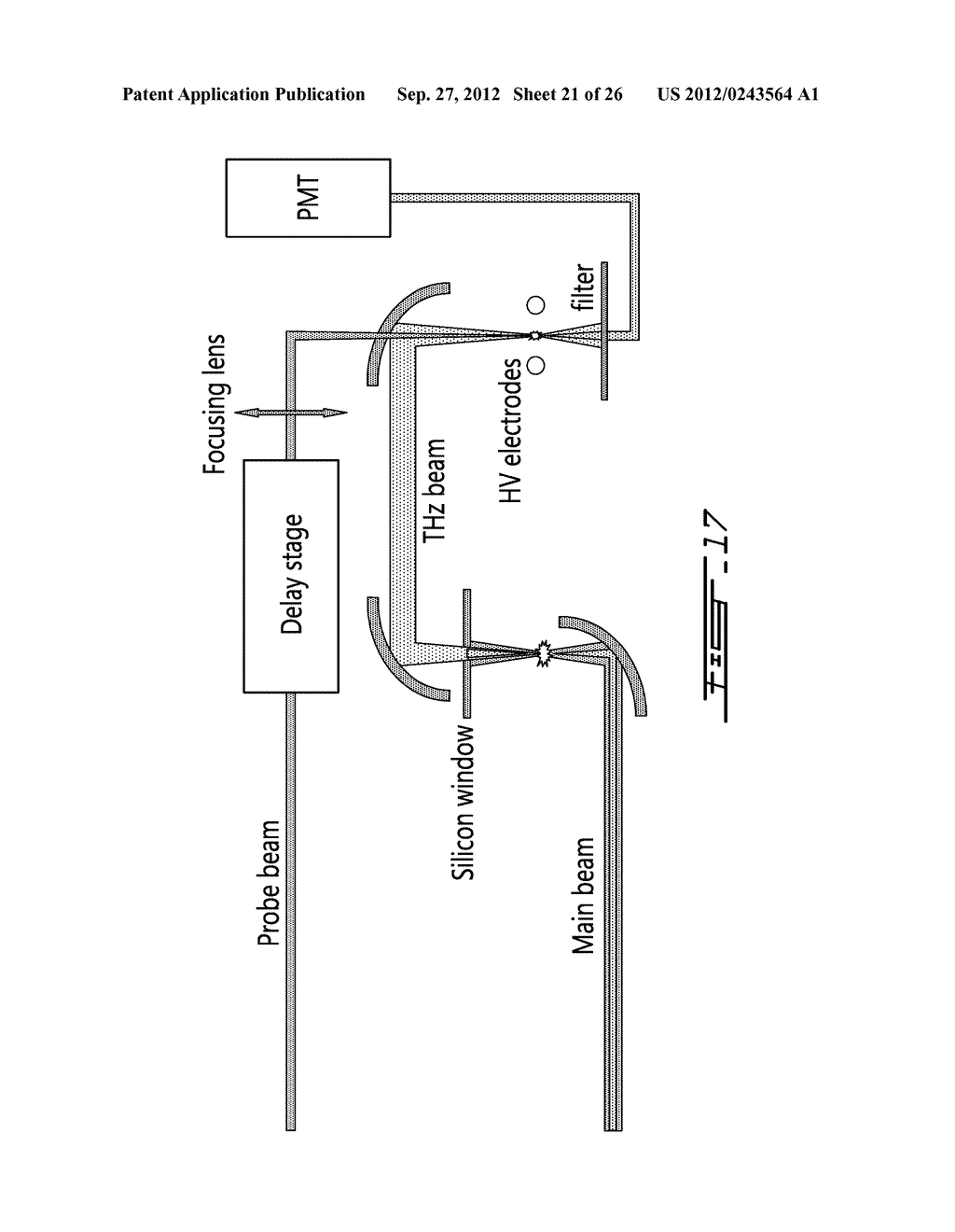 SYSTEM AND METHOD FOR AGILE REMOTE GENERATION OF A BROADBAND TUNABLE     SHORT-PULSE EMISSION - diagram, schematic, and image 22
