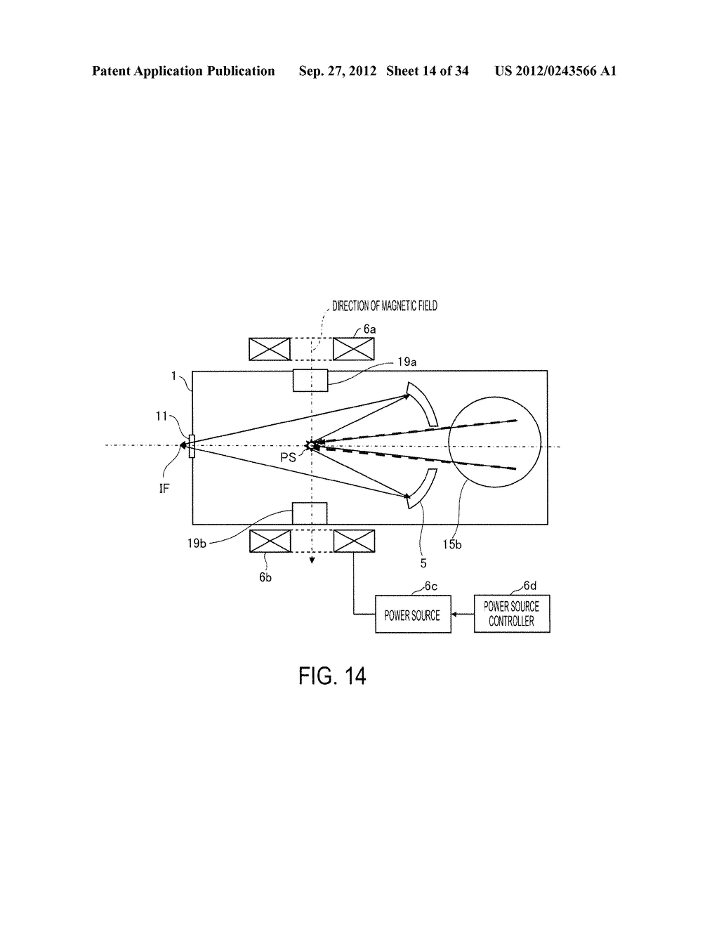 SYSTEM AND METHOD FOR GENERATING EXTREME ULTRAVIOLET LIGHT - diagram, schematic, and image 15