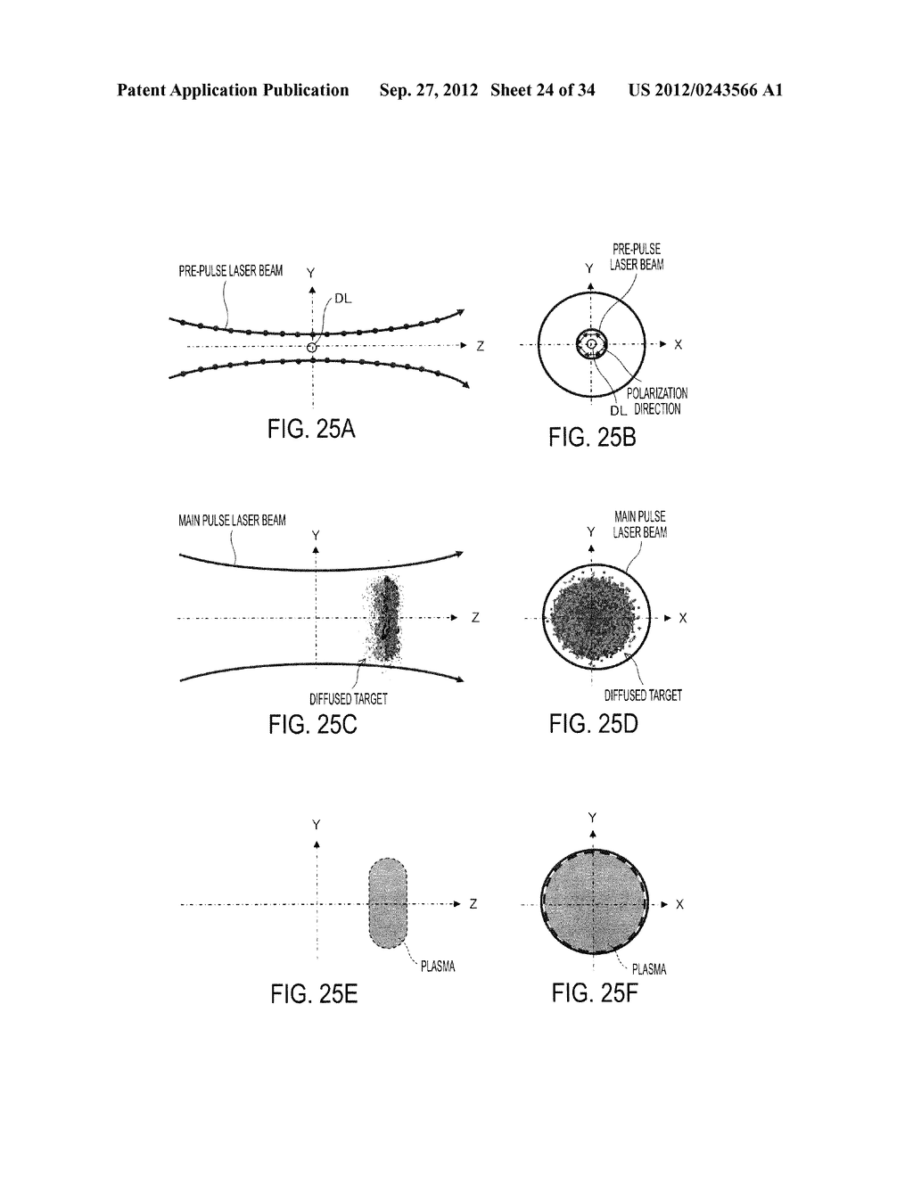 SYSTEM AND METHOD FOR GENERATING EXTREME ULTRAVIOLET LIGHT - diagram, schematic, and image 25
