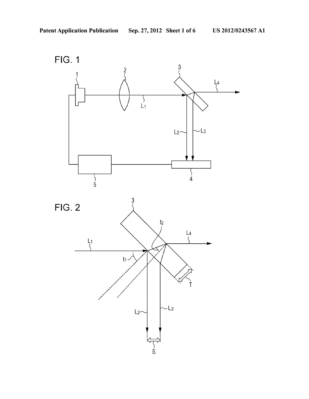 LASER IRRADIATION DEVICE AND MICROPARTICLE MEASURING DEVICE - diagram, schematic, and image 02
