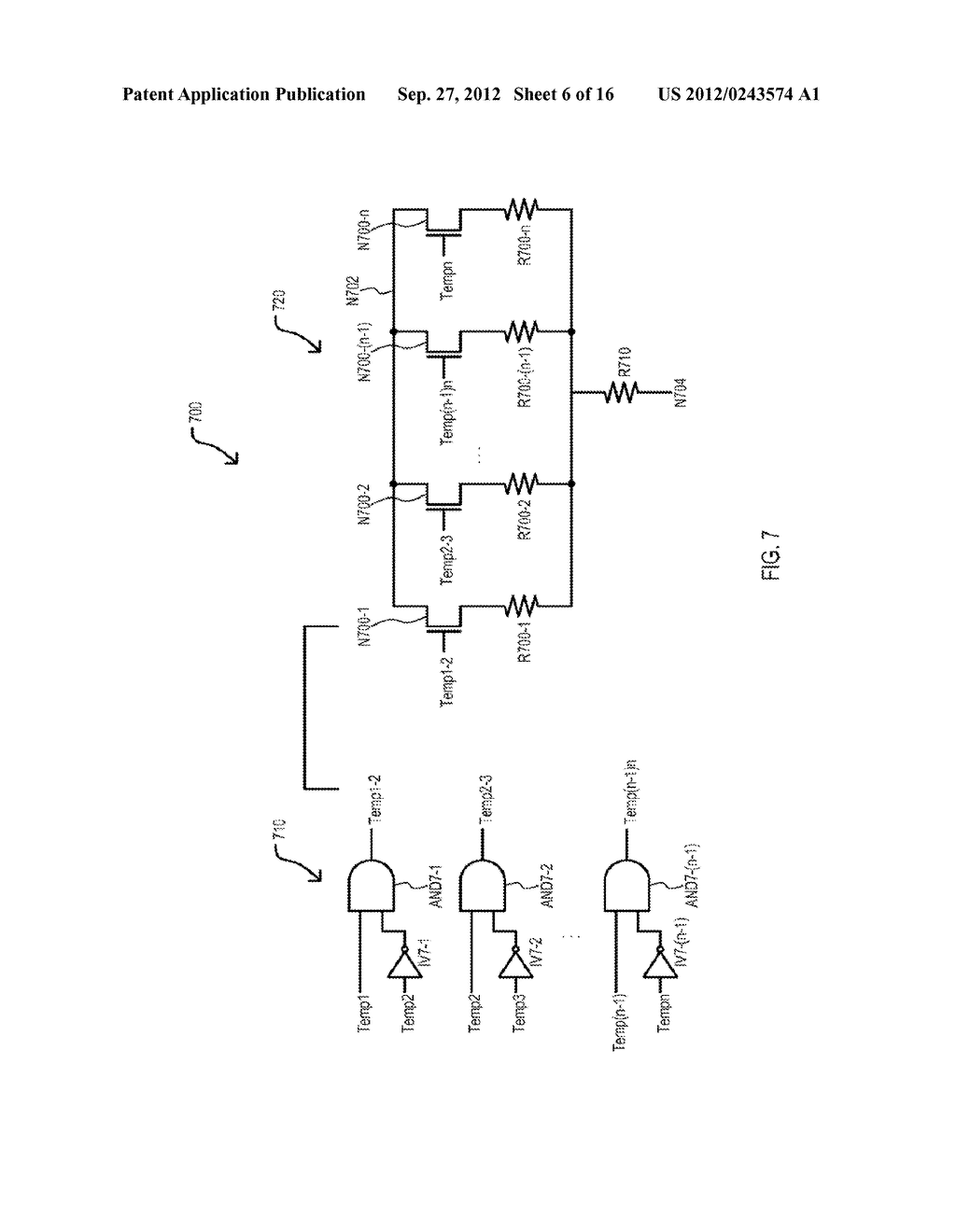 SEMICONDUCTOR DEVICE HAVING VARIABLE PARAMETER SELECTION BASED ON     TEMPERATURE AND TEST METHOD - diagram, schematic, and image 07