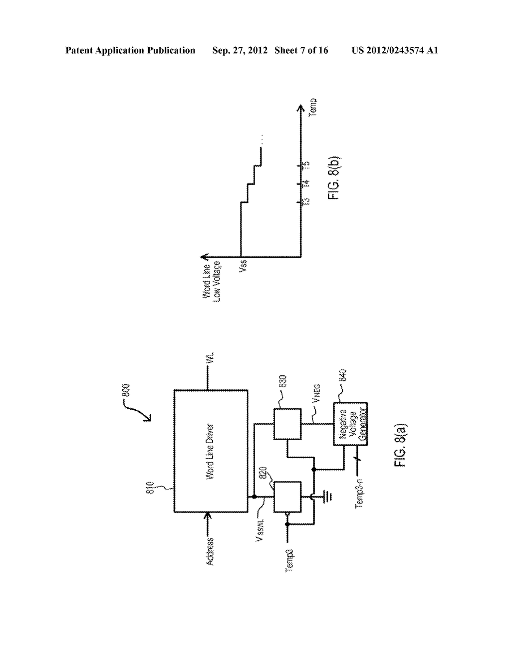 SEMICONDUCTOR DEVICE HAVING VARIABLE PARAMETER SELECTION BASED ON     TEMPERATURE AND TEST METHOD - diagram, schematic, and image 08