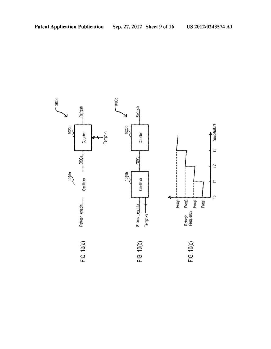 SEMICONDUCTOR DEVICE HAVING VARIABLE PARAMETER SELECTION BASED ON     TEMPERATURE AND TEST METHOD - diagram, schematic, and image 10