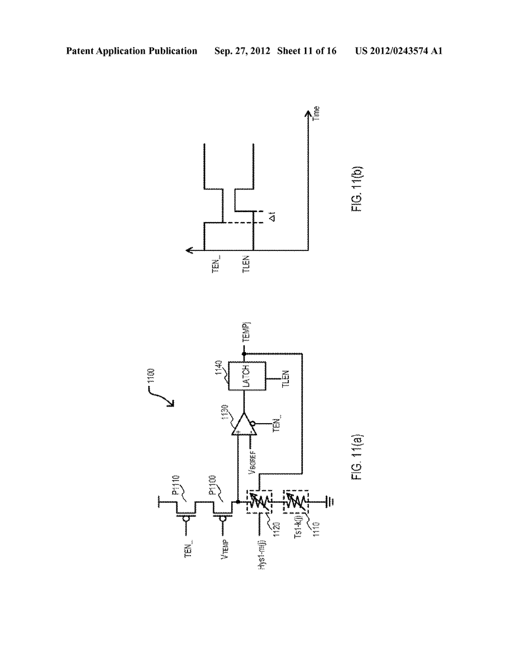 SEMICONDUCTOR DEVICE HAVING VARIABLE PARAMETER SELECTION BASED ON     TEMPERATURE AND TEST METHOD - diagram, schematic, and image 12