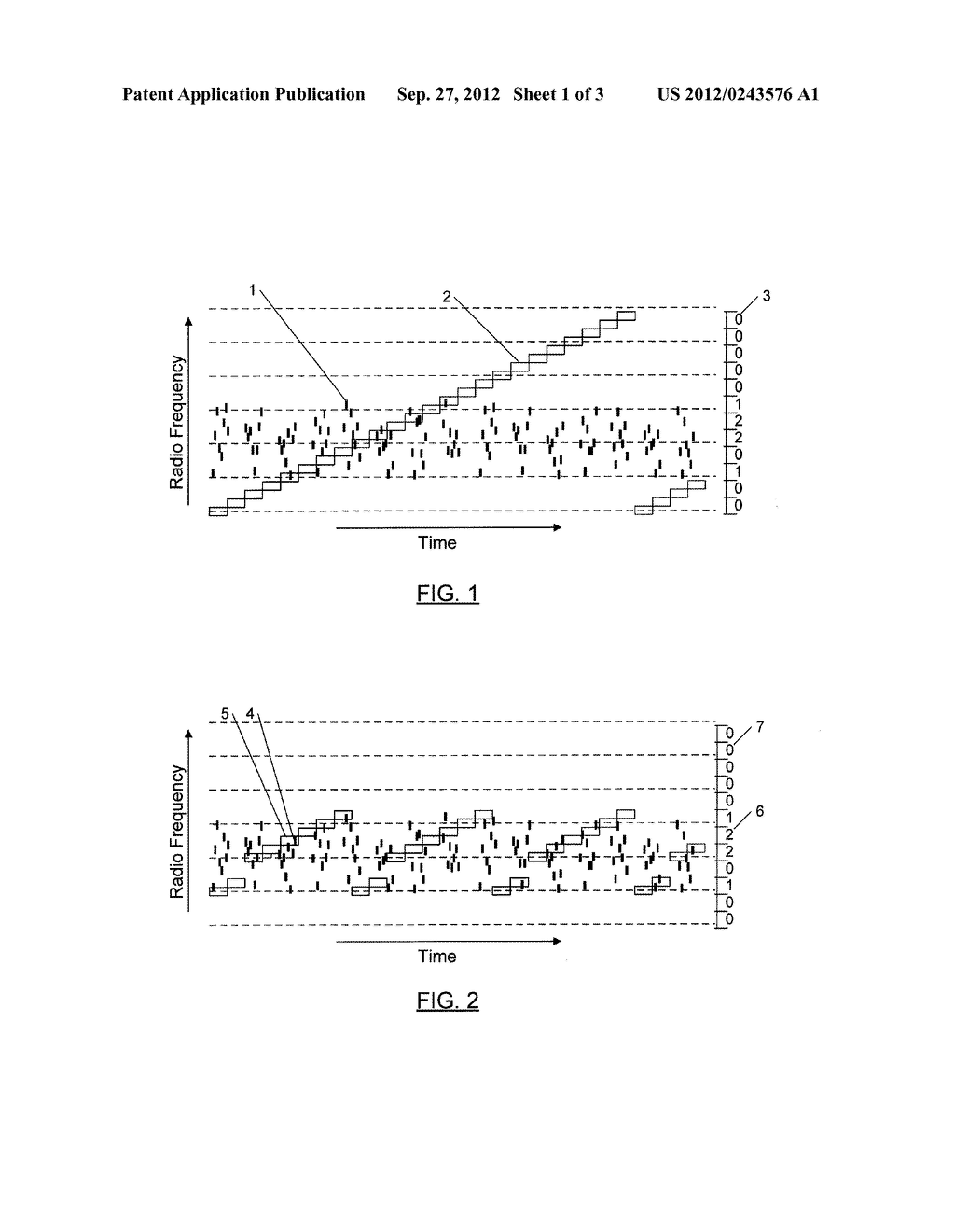 METHODS AND APPARATUSES FOR RECEPTION OF FREQUENCY-HOPPING SPREAD SPECTRUM     RADIO TRANSMISSIONS - diagram, schematic, and image 02
