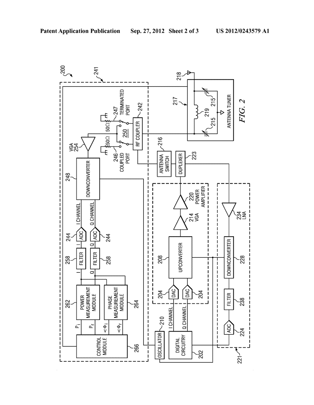 System and Method for Tuning an Antenna In a Wireless Communication Device - diagram, schematic, and image 03