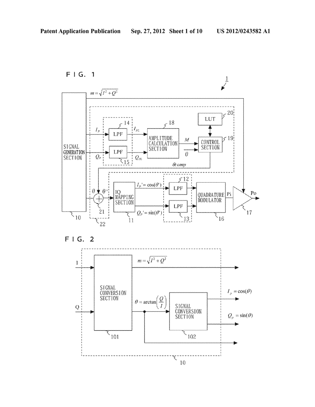 TRANSMITTER AND COMMUNICATION DEVICE - diagram, schematic, and image 02