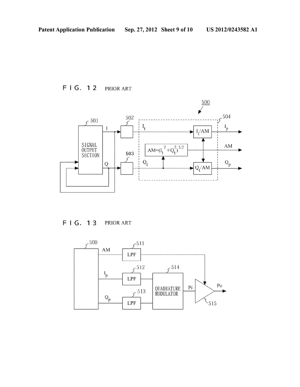 TRANSMITTER AND COMMUNICATION DEVICE - diagram, schematic, and image 10
