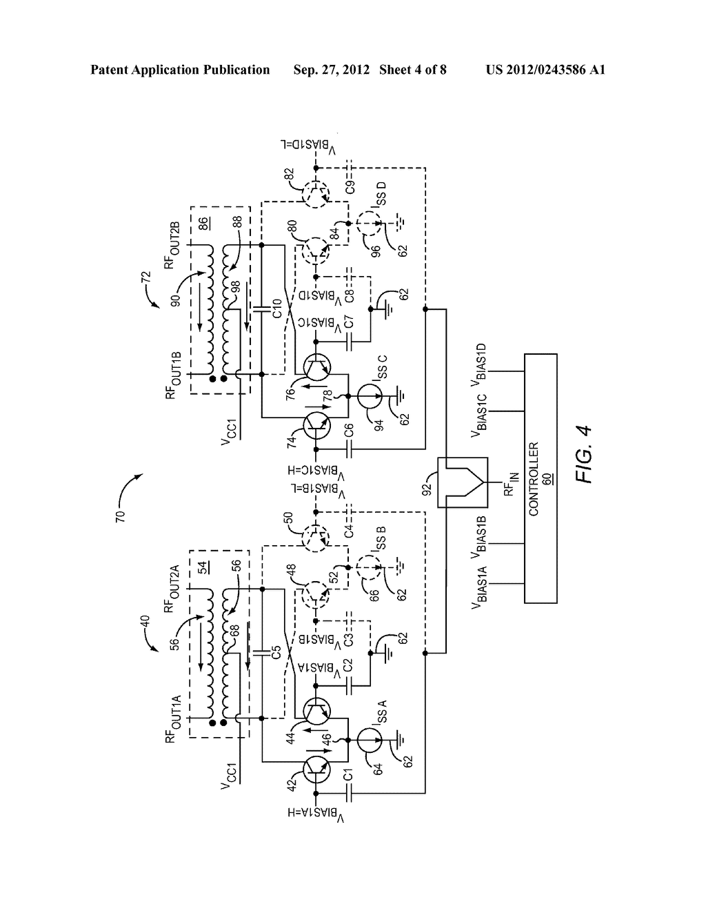 PHASE SHIFTING STAGE FOR SWITCHLESS DE-MULTIPLEXING - diagram, schematic, and image 05