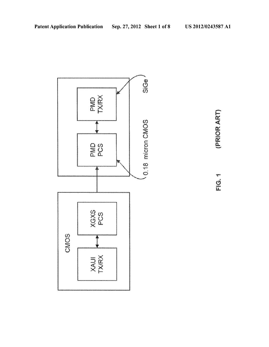 System and Method for Implementing a Single Chip Having a Multiple     Sub-Layer PHY - diagram, schematic, and image 02