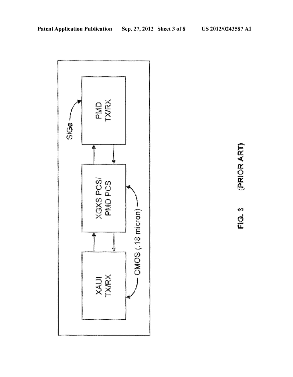 System and Method for Implementing a Single Chip Having a Multiple     Sub-Layer PHY - diagram, schematic, and image 04