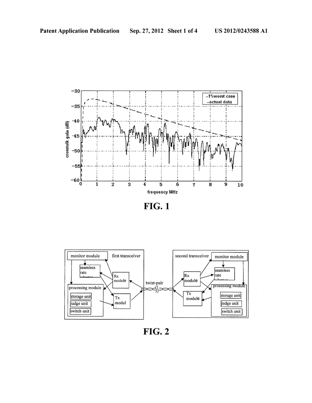 METHOD AND DEVICE FOR PERFORMING COMMUNICATION IN DIGITAL SUBSCRIBER LINE - diagram, schematic, and image 02