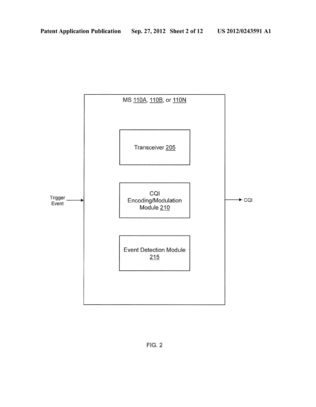 METHOD AND SYSTEM OF PAYLOAD ENCODING AND MODULATION FOR CHANNEL QUALITY     FEEDBACK - diagram, schematic, and image 03