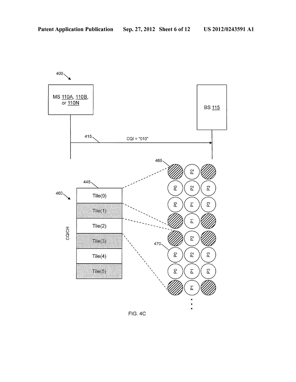 METHOD AND SYSTEM OF PAYLOAD ENCODING AND MODULATION FOR CHANNEL QUALITY     FEEDBACK - diagram, schematic, and image 07