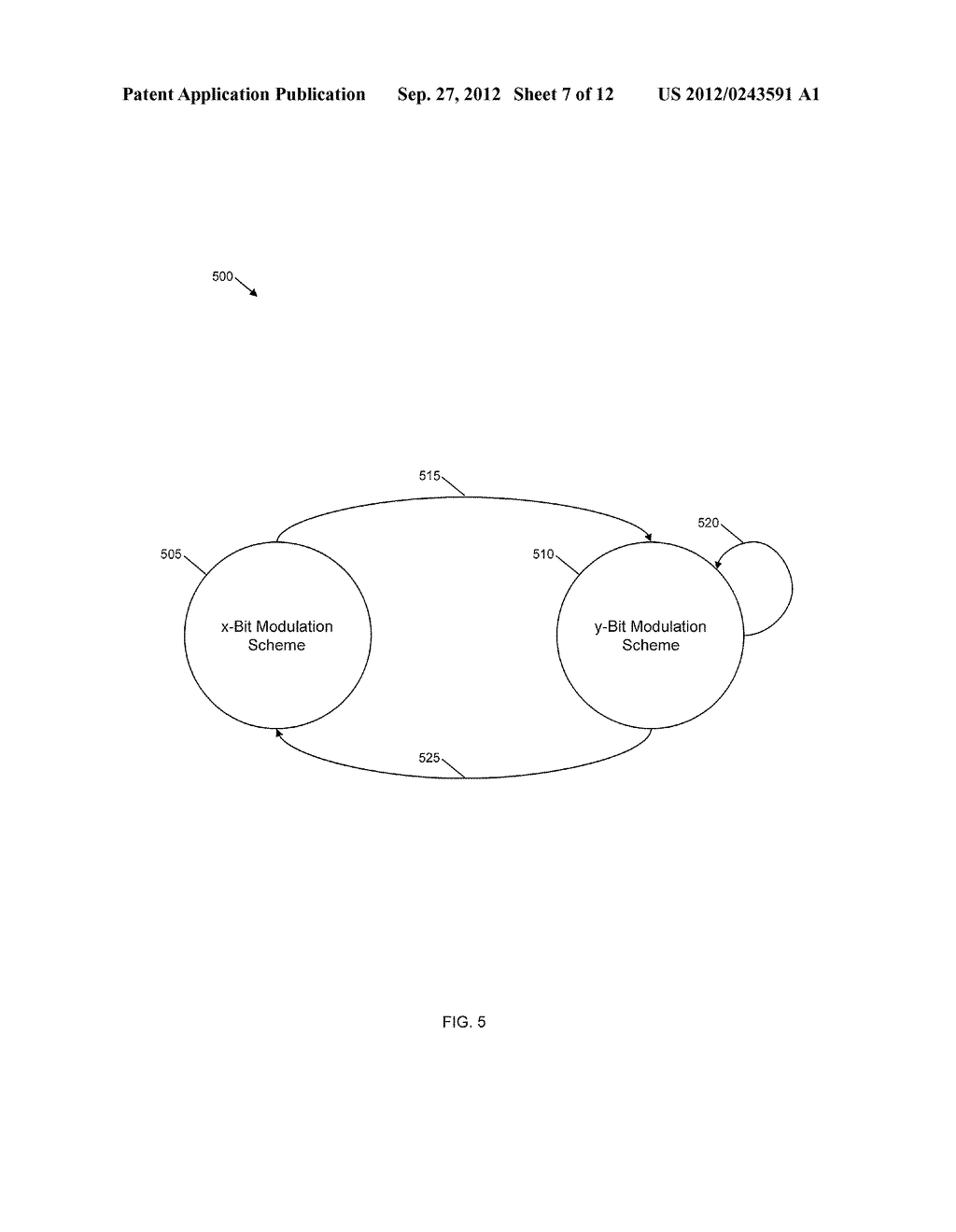 METHOD AND SYSTEM OF PAYLOAD ENCODING AND MODULATION FOR CHANNEL QUALITY     FEEDBACK - diagram, schematic, and image 08