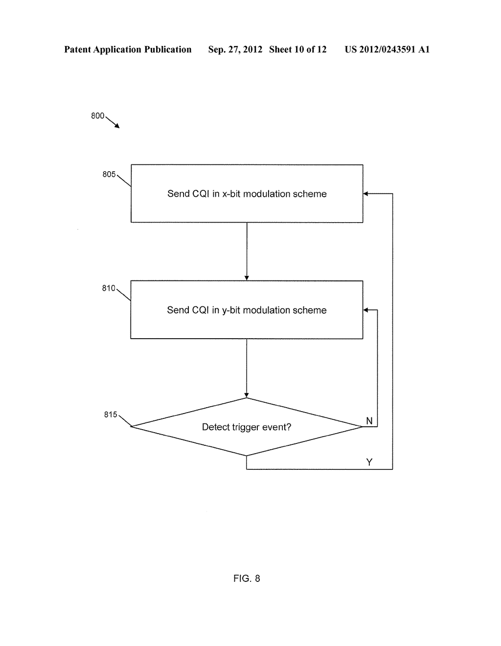 METHOD AND SYSTEM OF PAYLOAD ENCODING AND MODULATION FOR CHANNEL QUALITY     FEEDBACK - diagram, schematic, and image 11
