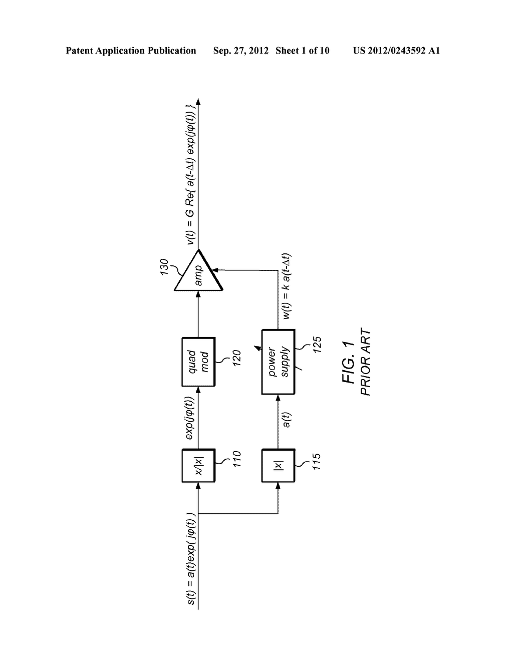 Amplitude/Phase Delay Calibration for Envelope-Tracking Amplifier - diagram, schematic, and image 02