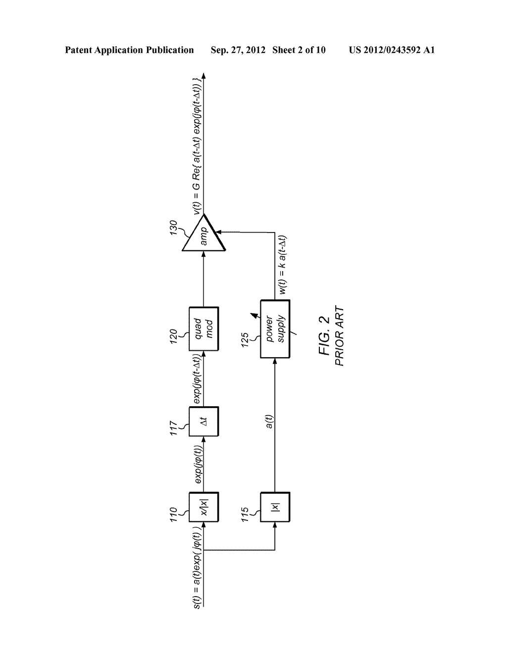 Amplitude/Phase Delay Calibration for Envelope-Tracking Amplifier - diagram, schematic, and image 03