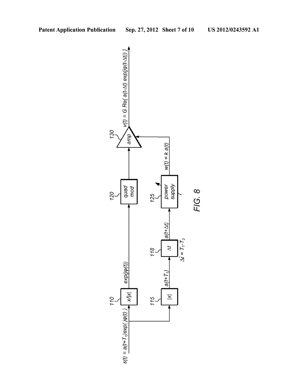 Amplitude/Phase Delay Calibration for Envelope-Tracking Amplifier - diagram, schematic, and image 08