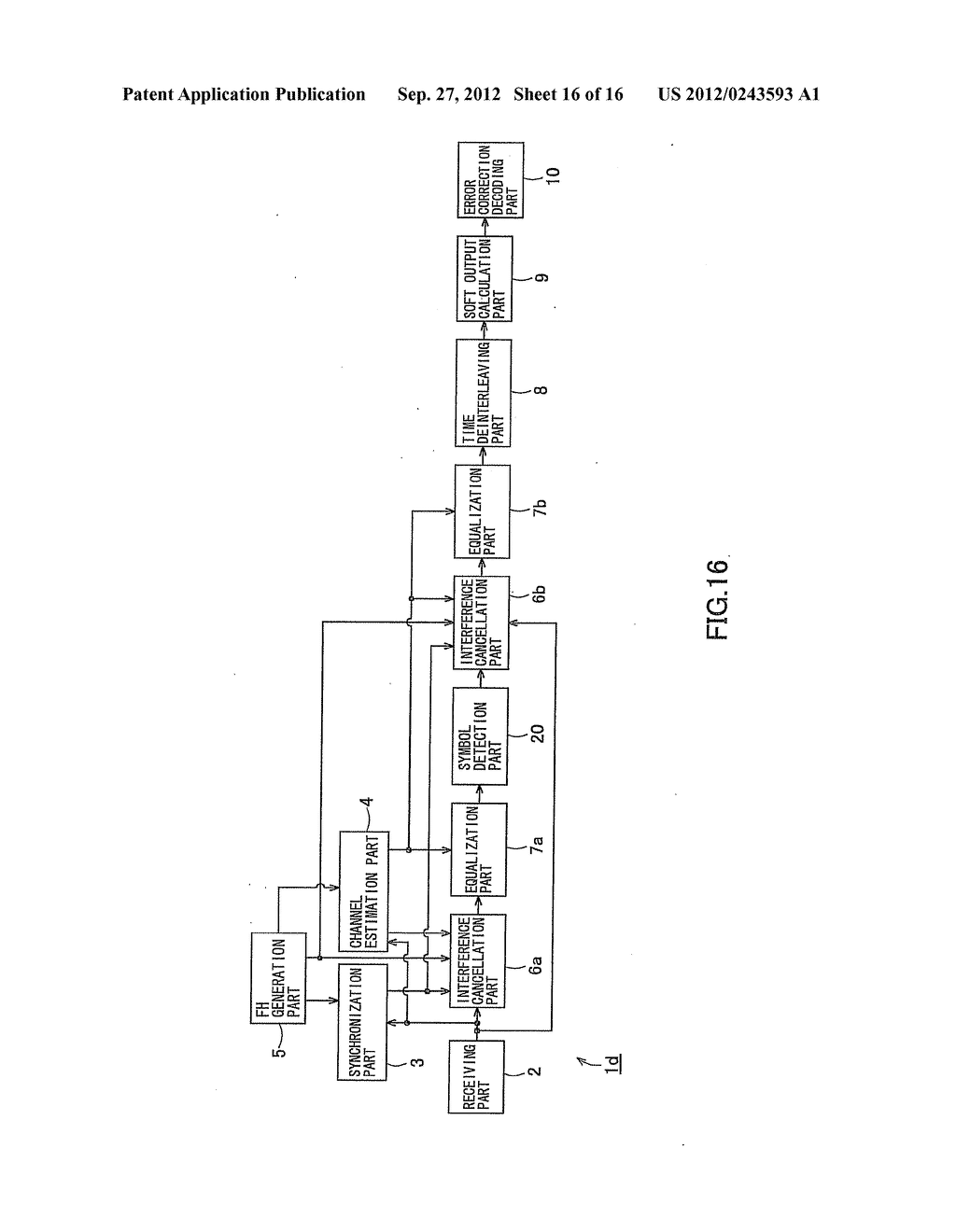 RECEIVING APPARATUS AND RECEIVING METHOD - diagram, schematic, and image 17