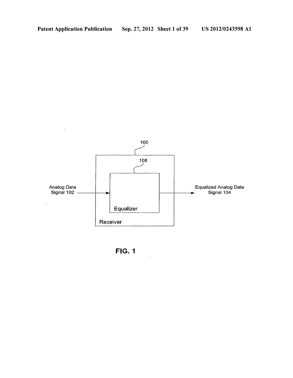 Methods and Systems for Adaptive Receiver Equalization - diagram, schematic, and image 02