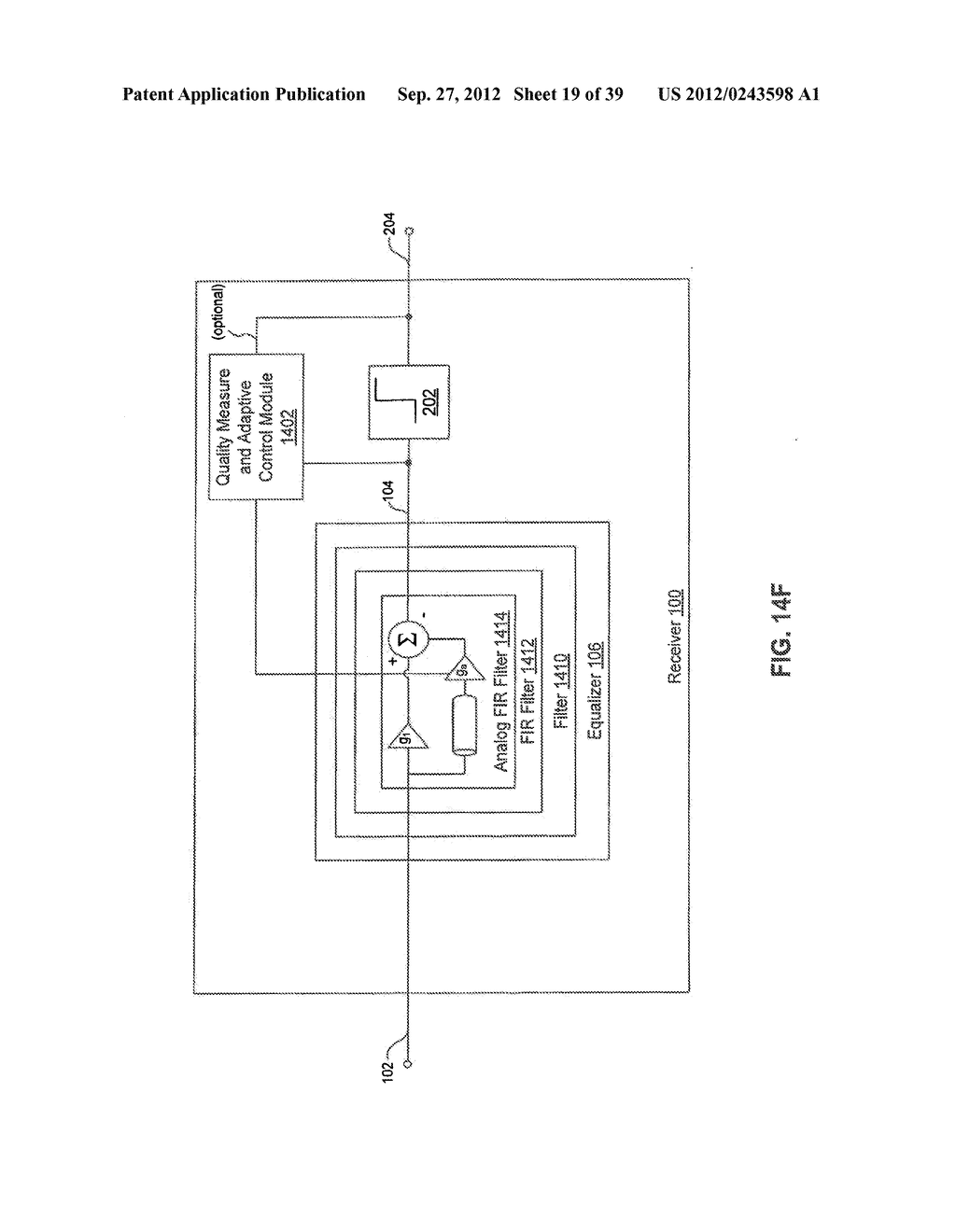 Methods and Systems for Adaptive Receiver Equalization - diagram, schematic, and image 20