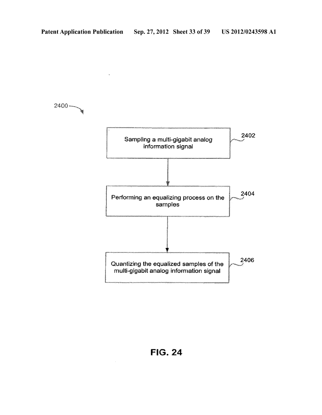 Methods and Systems for Adaptive Receiver Equalization - diagram, schematic, and image 34