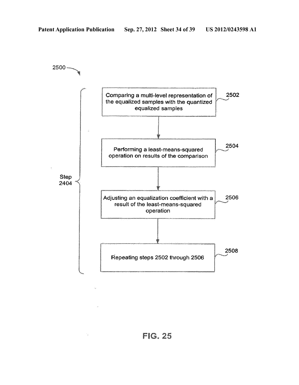 Methods and Systems for Adaptive Receiver Equalization - diagram, schematic, and image 35