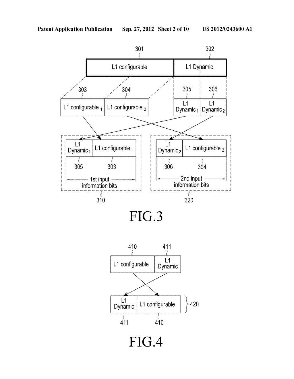 METHOD AND APPARATUS FOR TRANSMITTING AND RECEIVING CONTROL INFORMATION IN     A BROADCASTING/COMMUNICATION SYSTEM - diagram, schematic, and image 03