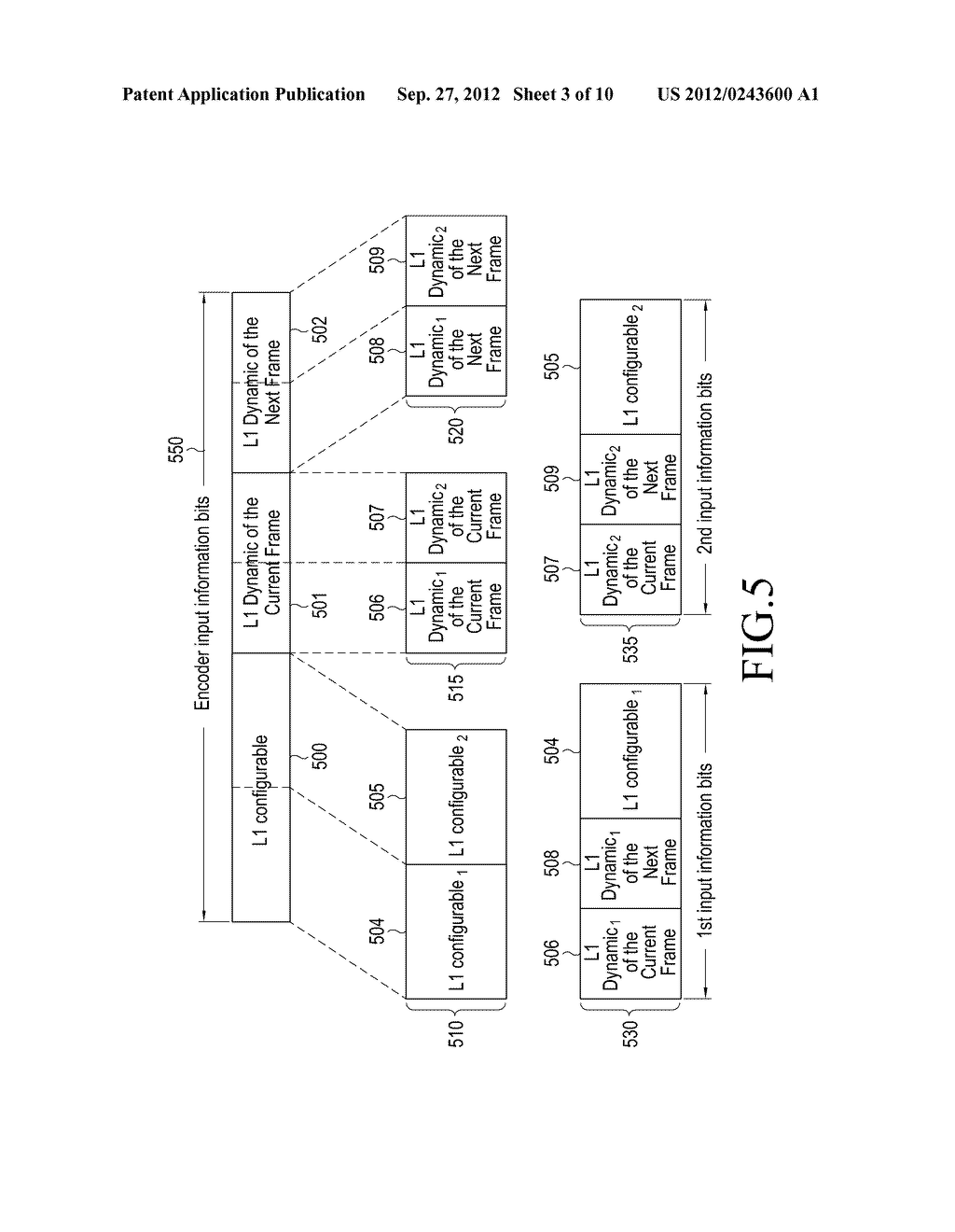 METHOD AND APPARATUS FOR TRANSMITTING AND RECEIVING CONTROL INFORMATION IN     A BROADCASTING/COMMUNICATION SYSTEM - diagram, schematic, and image 04