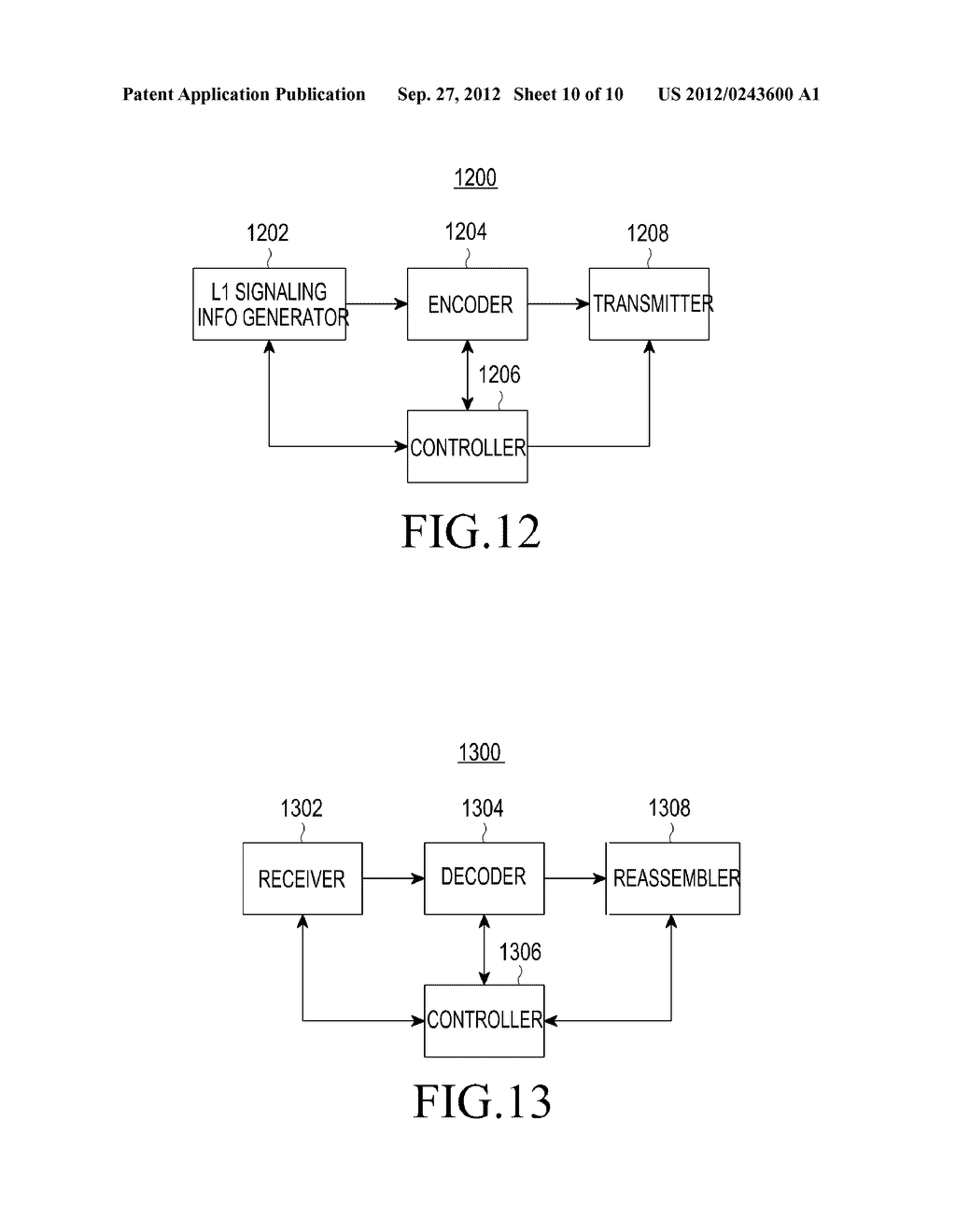 METHOD AND APPARATUS FOR TRANSMITTING AND RECEIVING CONTROL INFORMATION IN     A BROADCASTING/COMMUNICATION SYSTEM - diagram, schematic, and image 11