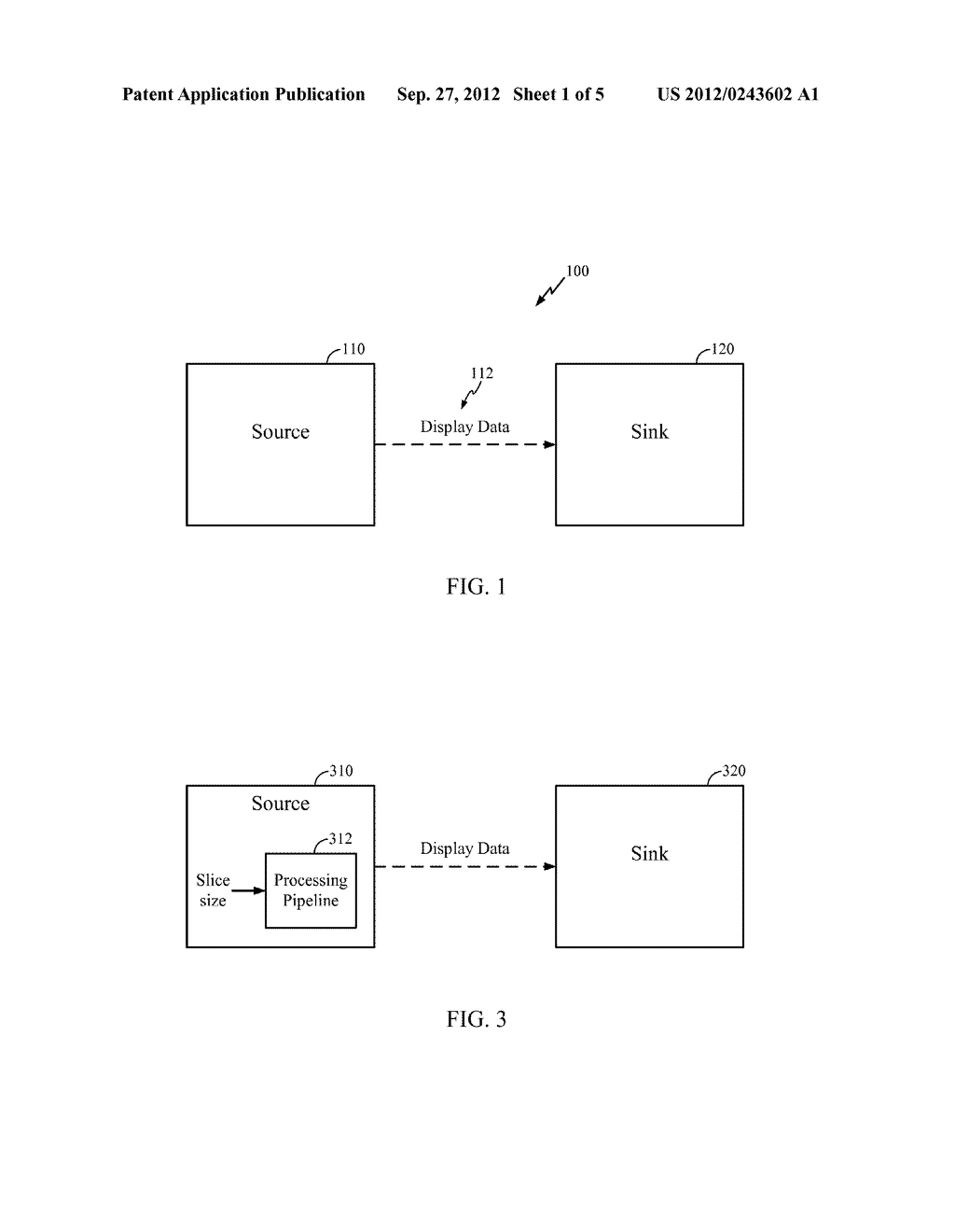 METHOD AND APPARATUS FOR PIPELINED SLICING FOR WIRELESS DISPLAY - diagram, schematic, and image 02