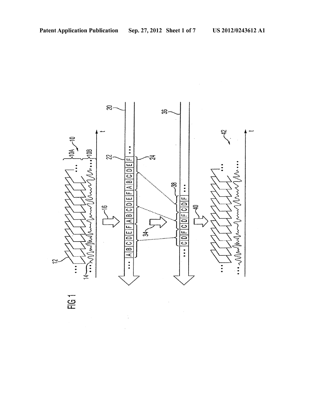 APPARATUS AND METHOD FOR CODING AN INFORMATION SIGNAL INTO A DATA STREAM,     CONVERTING THE DATA STREAM AND DECODING THE DATA STREAM - diagram, schematic, and image 02