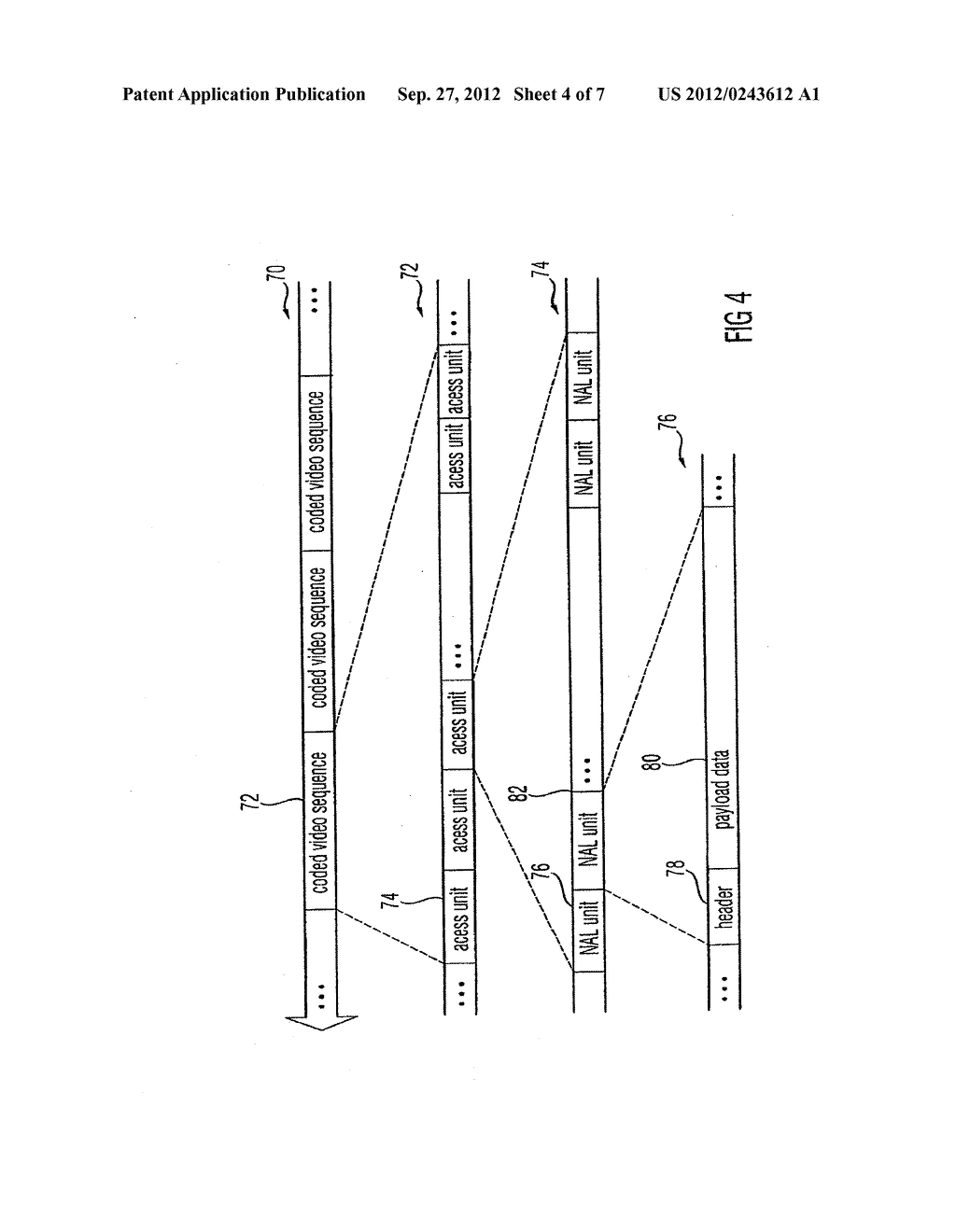 APPARATUS AND METHOD FOR CODING AN INFORMATION SIGNAL INTO A DATA STREAM,     CONVERTING THE DATA STREAM AND DECODING THE DATA STREAM - diagram, schematic, and image 05