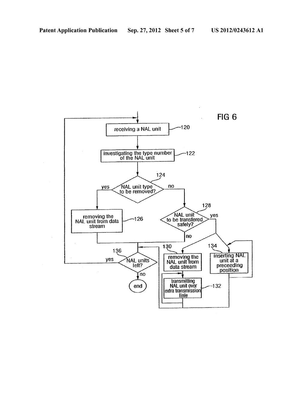 APPARATUS AND METHOD FOR CODING AN INFORMATION SIGNAL INTO A DATA STREAM,     CONVERTING THE DATA STREAM AND DECODING THE DATA STREAM - diagram, schematic, and image 06