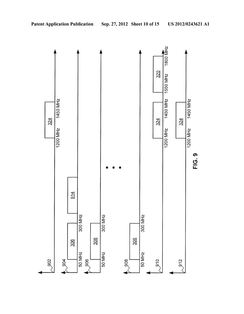Multi-Wideband Communications over Multiple Mediums within a Network - diagram, schematic, and image 11